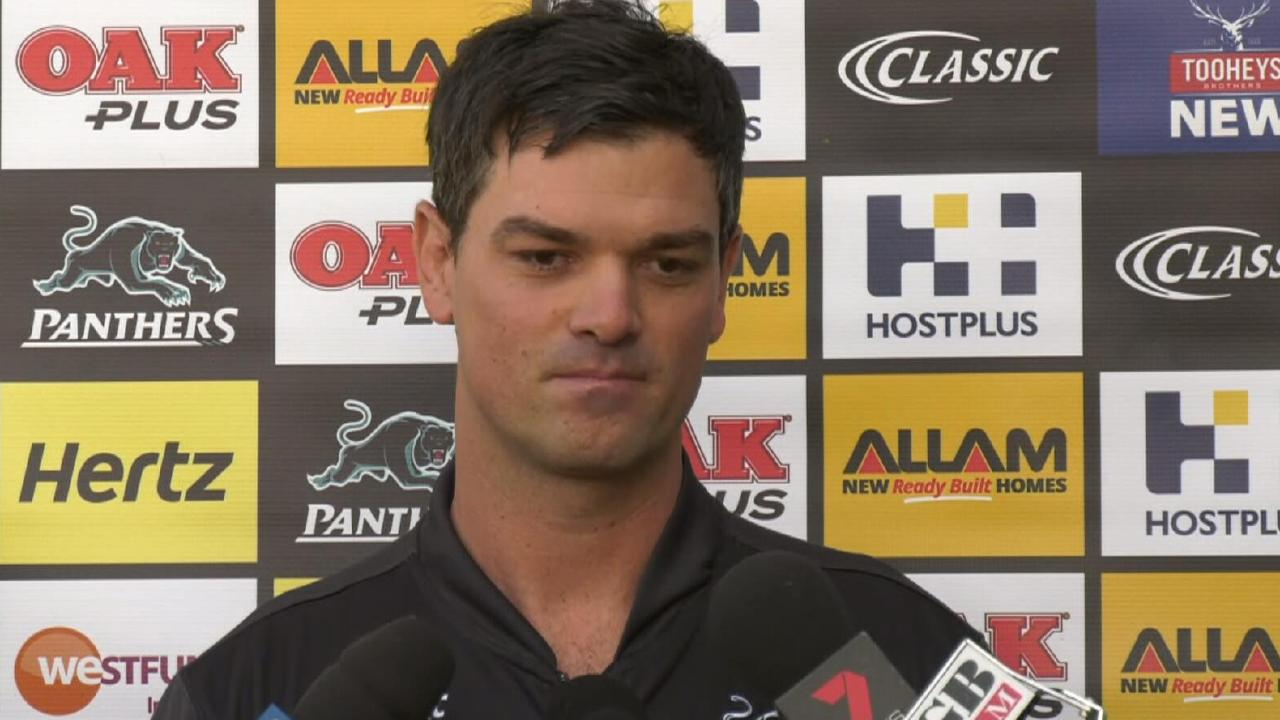 Penrith Panthers caretaker coach Cameron Ciraldo is a chance to get the head coaching role.