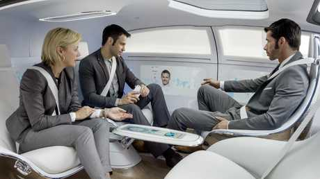 Moving office: Mercedes-Benz's vision of level five autonomous cars appears to be fading.