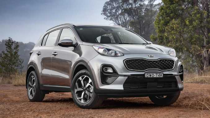 The Kia Sportage.