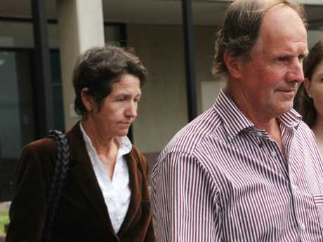 CONVICTED: Murderers Dianne Wilson-Struber (left) and Stephen Struber (right) have remained silent about their involvement and the location of Bruce Schuler's body. PICTURE: HARRY CLARKE