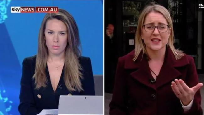 Sky News has been banned at train stations in Melbourne. Laura Jayes asked MP Jacinta Allan to explain.