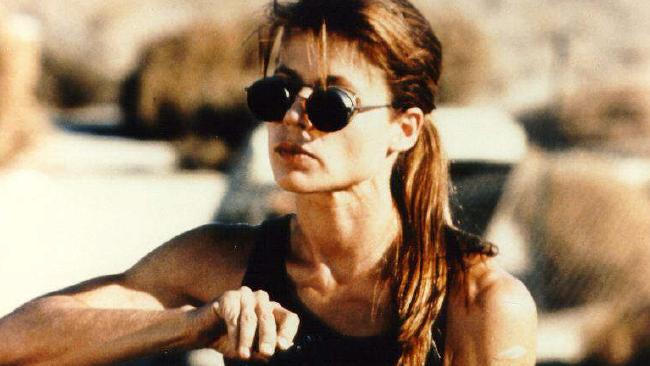 Linda Hamilton in Terminator 2: Judgment Day.
