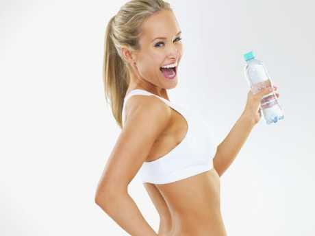 Drinking plenty of water can help keep those kilos off.