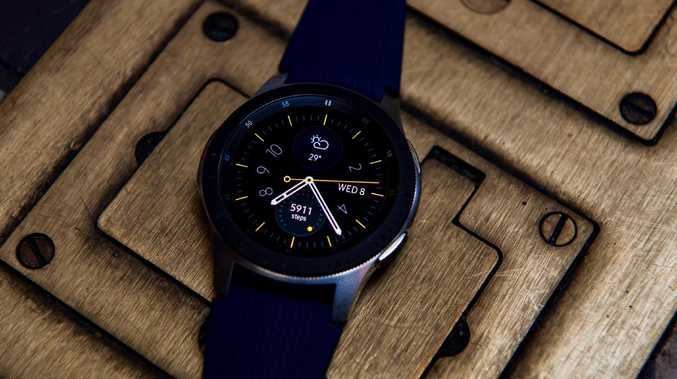 The Samsung Galaxy Watch will be the company's first to feature its own mobile connection to work independently of a smartphone. Picture: Jennifer Dudley-Nicholson