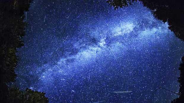 Perseid meteor activity 2013 in Ontario, Canada.