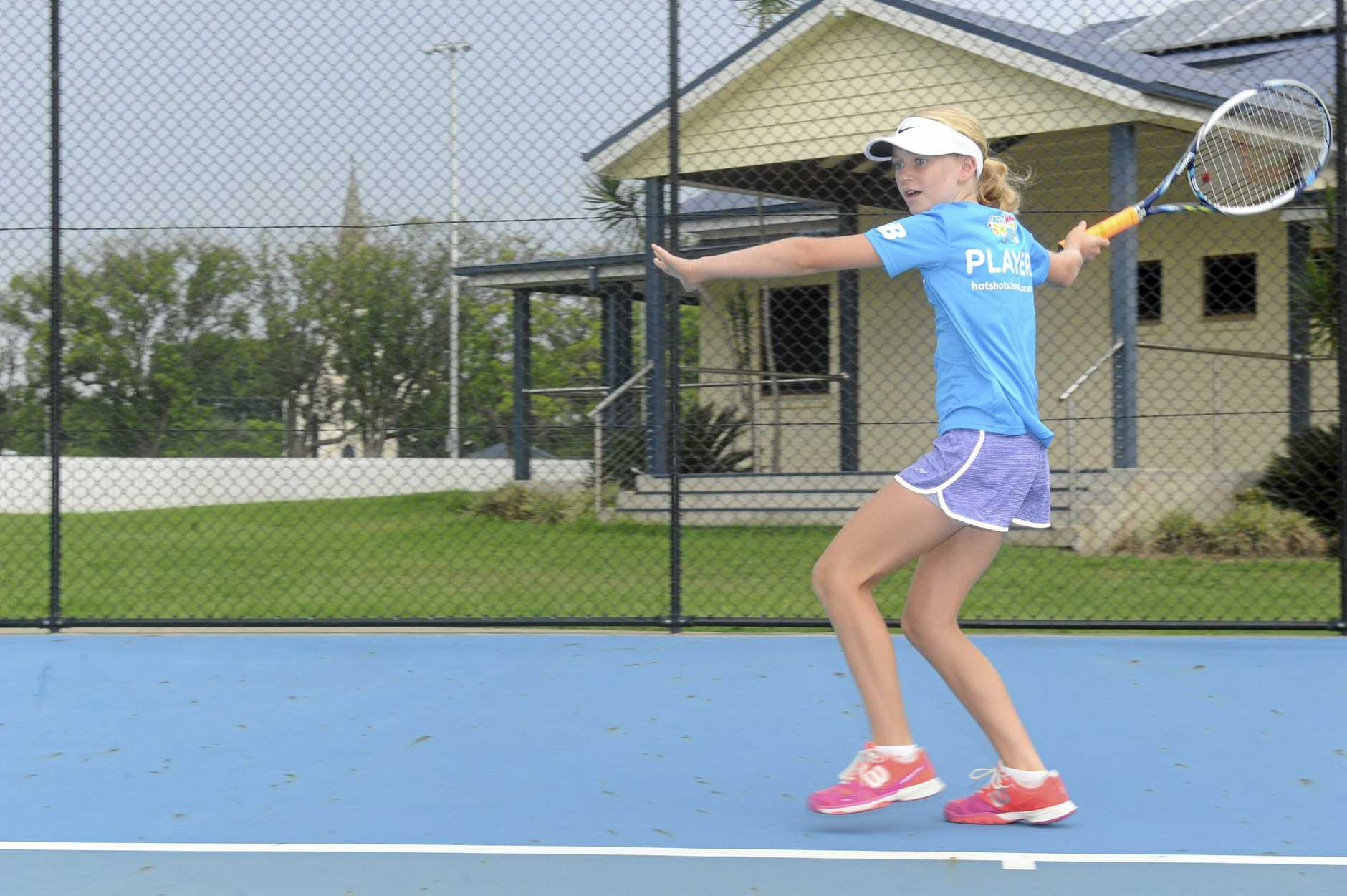 Grafton City Tennis Club HotShots player Rahni McGrath will head to the Australian Open as the December HotShot of the Month.