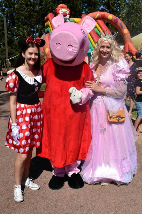 Minnie Mouse, Peppa Pig and the Disney Princess were all invited to the Kershaw Gardens opening.