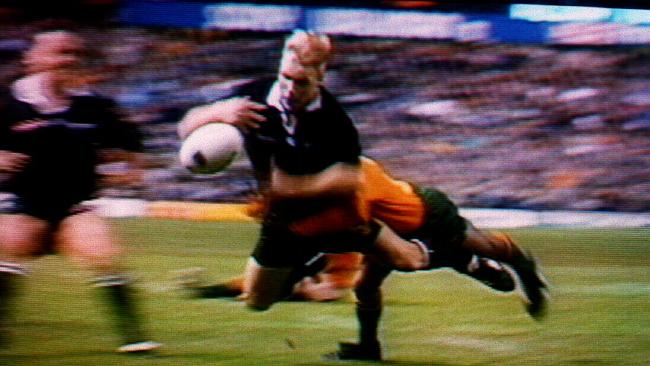 George Gregan and THAT tackle.