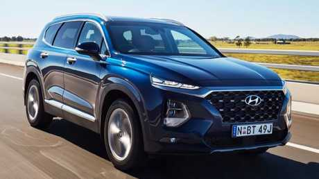 Hyundai Santa Fe: Just over $60K and no options boxes to tick