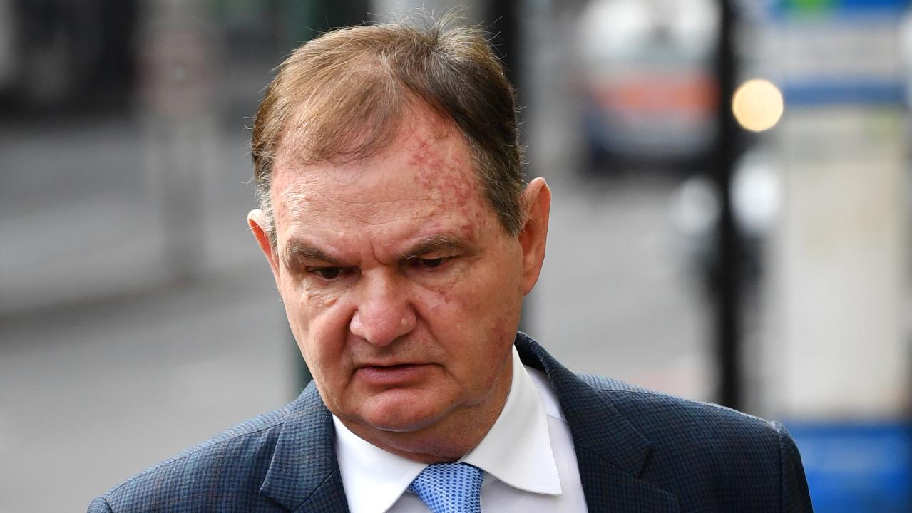 Former Ipswich mayor Paul Pisasale. Picture: AAP/Darren England