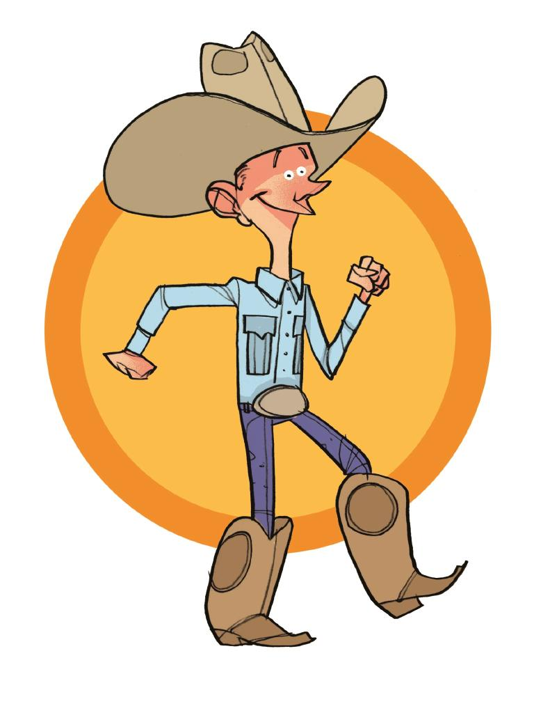 The urban cowboy. Illustration by Brett Lethbridge