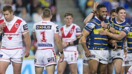 It was Parramatta's best performance of the season. AAP Image/Craig Golding.