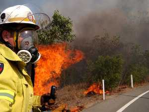 Bush fire danger 'high'