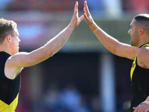 Riewoldt's 10-goal stunner sinks Suns