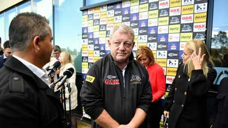 Griffin says he didn't watch Phil Gould's Footy Show interview. (AAP Image/Joel Carrett)
