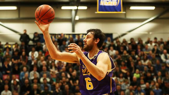 Andrew Bogut had a strong debut for the Kings. Picture: Getty