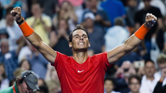 Rafael Nadal is one of a kind.