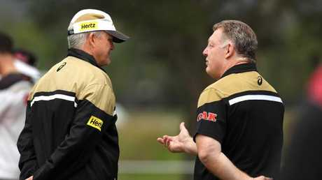 Griffin spoke of his toxic relationship with Gould. Picture: Gregg Porteous