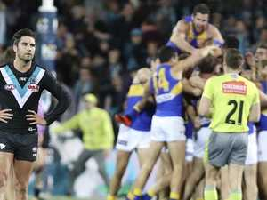 Eagles' theft a hammer blow to Port's finals hopes