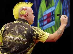 Wright ready to take down Darts world champ in Brisbane