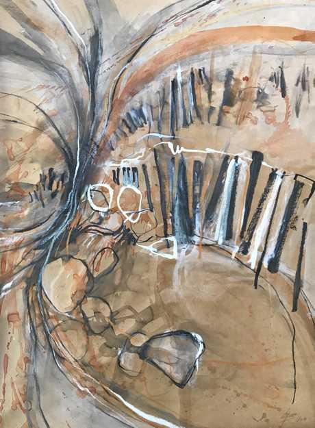 Glenda Hobdell's piece entitled