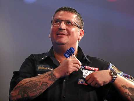 Gary Anderson is determined to make the most of his opportunity in Melbourne.