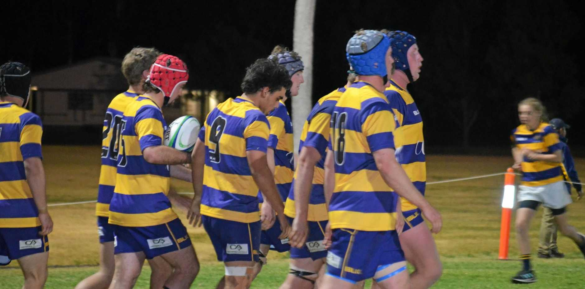 FINALS VICTORY: The Wheatmen gather after scoring against USQ in their qualifying finals victory at John Ritter Oval.