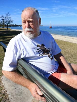 Bribie Island pensioner Ray Marsden. Picture: Jamie Hanson