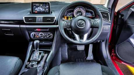 Mazda3 interior: Make sure infotainment works — and that road noise is tolerable