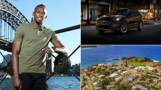Usain Bolt has outlined a very modest list of demands.