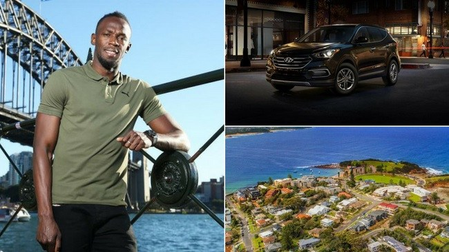 Usain Bolt has outlined a very modest list of demands.