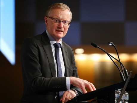 Reserve Bank governor Philip Lowe. Picture: Hollie Adams/The Australian
