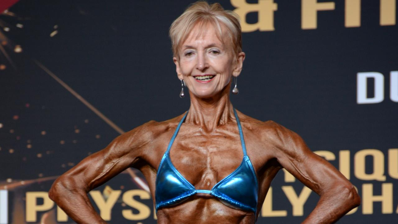 Janice Lorraine is a 75-year-old bodybuilding grandma. This is how she does it.