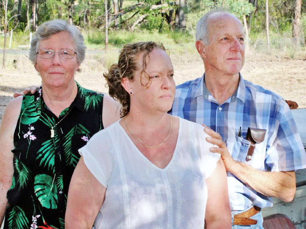 Jeffrey Brooks' family, parents Wendy and Lawrie and sister Rachel, want the State Coroner to re-open the inquest into his death. Pictures: Peter Hall
