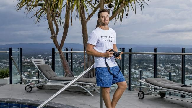 Tyson Mayr, 31, from the Gold Coast has been travelling the world since 2009 after he sold everything and walked away from the office cubicle life.