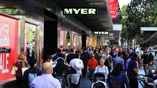 Can a new CEO turn Myer's fortunes around? Picture: Aaron Francis/The Australian