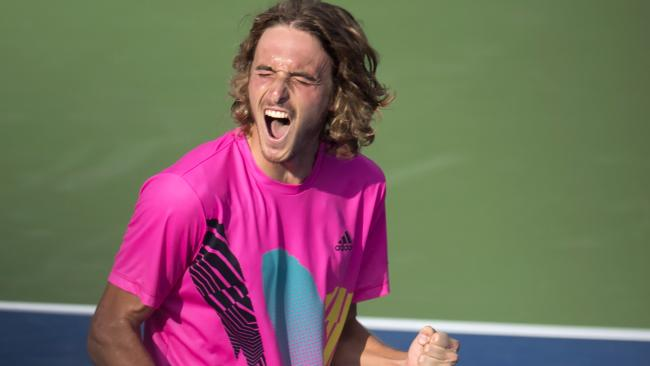 Stefanos Tsitsipas is going from strength to strength.