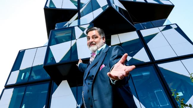 Under Strict Embargo until Sunday 10 June: d'Arenberg Cube Restaurant Featured on MasterChef Australia. Matt Preston. Picture: Network Ten / Dylan Coker