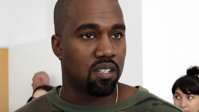 Kanye West is a fan of his wife's sisters. Picture: AP Photo/Richard Drew