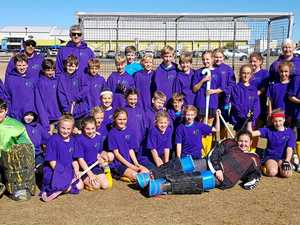 Hockey girls equal winners of Kim Small Shield