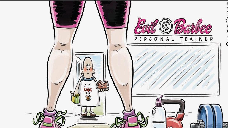 Cartoon for Big Rigs