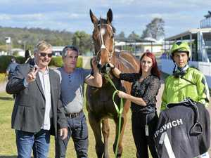 Jockey back in sparkling form after fall