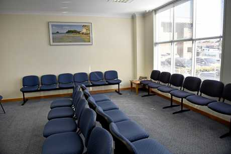 health, waiting room Photo Bev Lacey / The Chronicle
