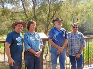 CQ couple recognised for restoring century old dam