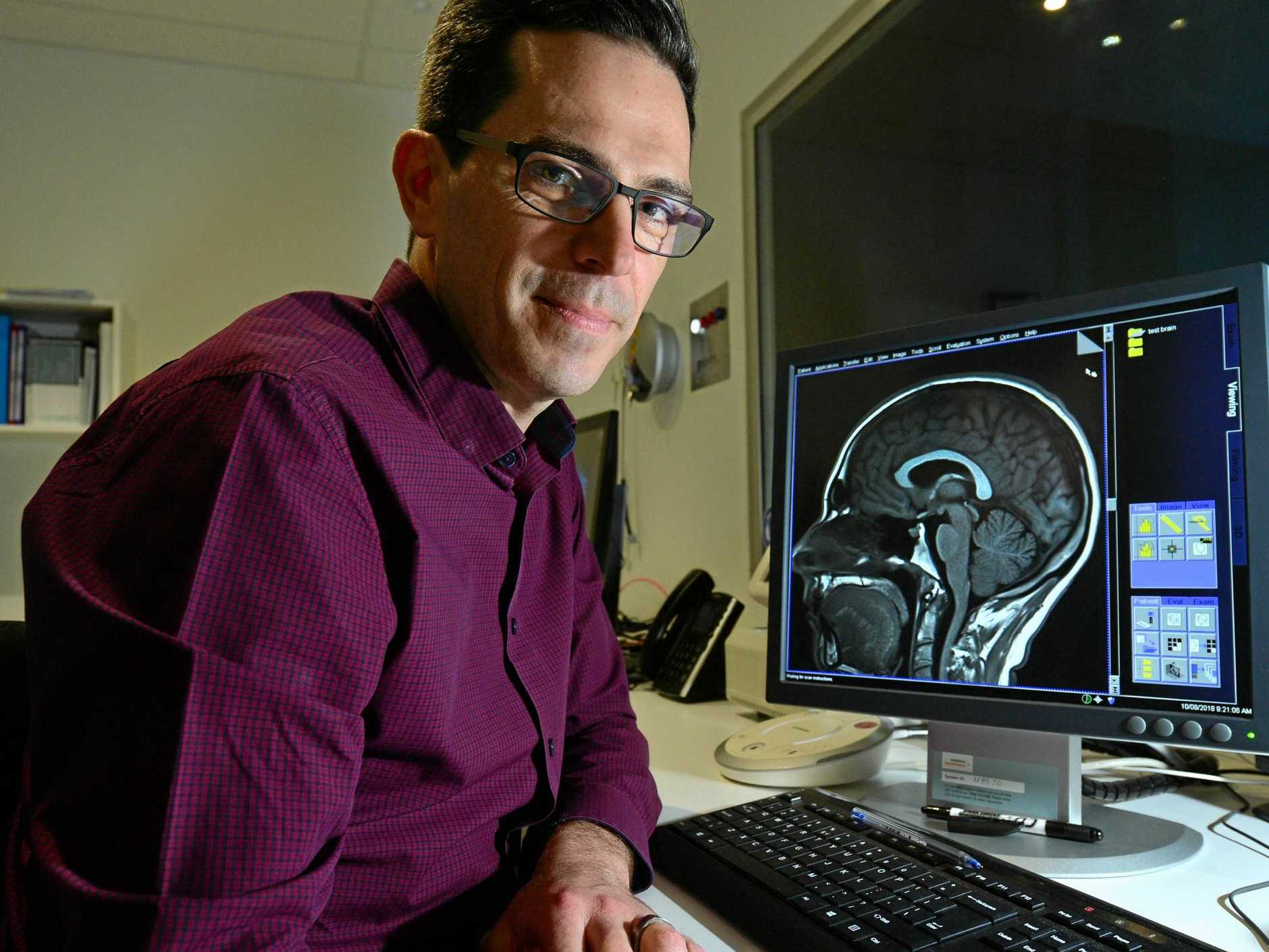 University of the Sunshine Coast researcher Professor Daniel Hermens is looking to recruit 500 youths to participate in  brain studies.