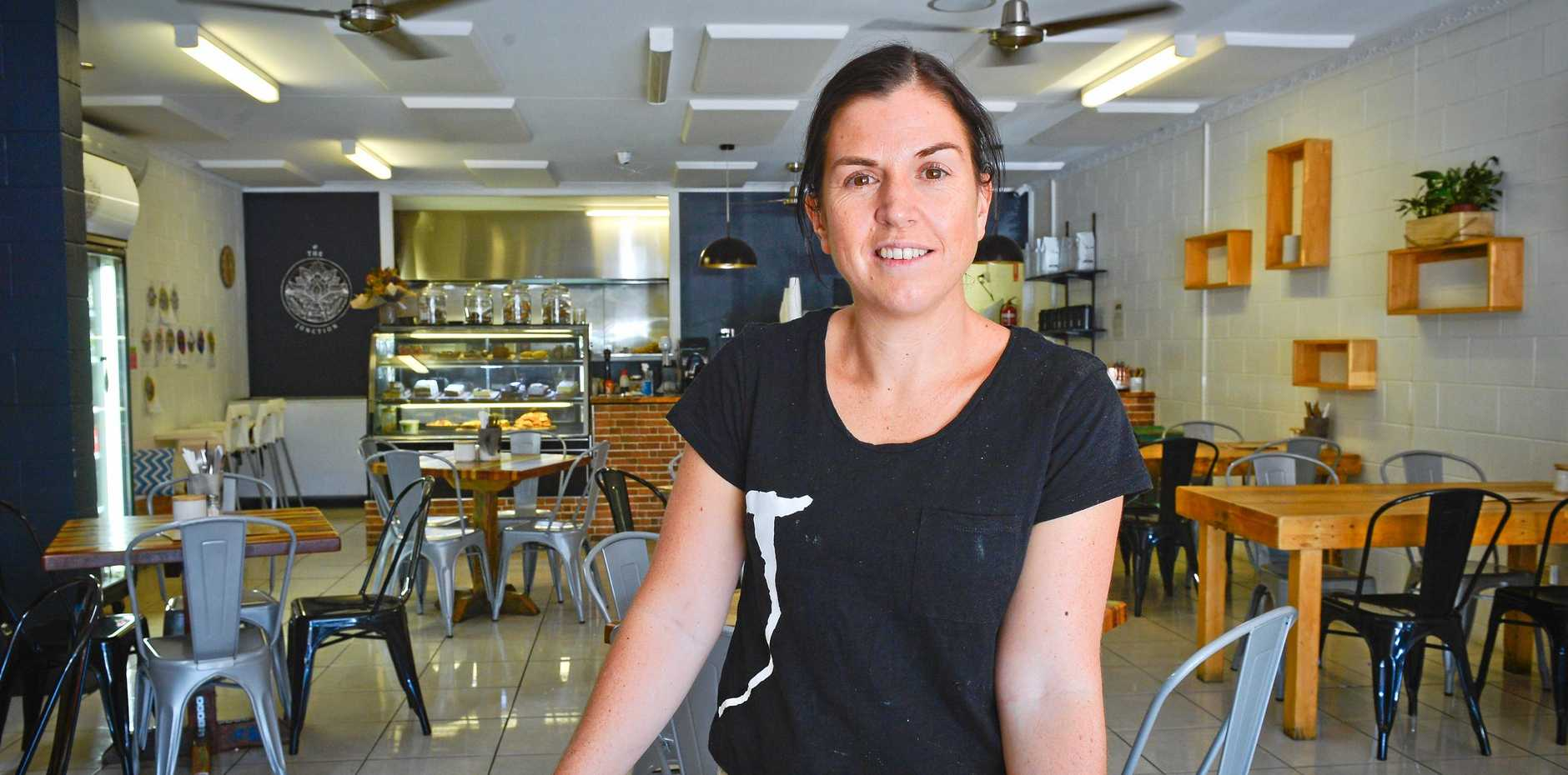 SMART CHOICE: New owner of the Junction Cafe at Tannum Sands, Melissa Smart.