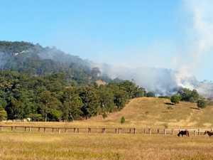 UPDATE: Fire crews are monitoring the Imbil bushfire