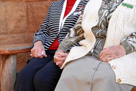 Love is a once-in-a-lifetime phenomenon, but friendship can come at any age according to Warwick's older women.