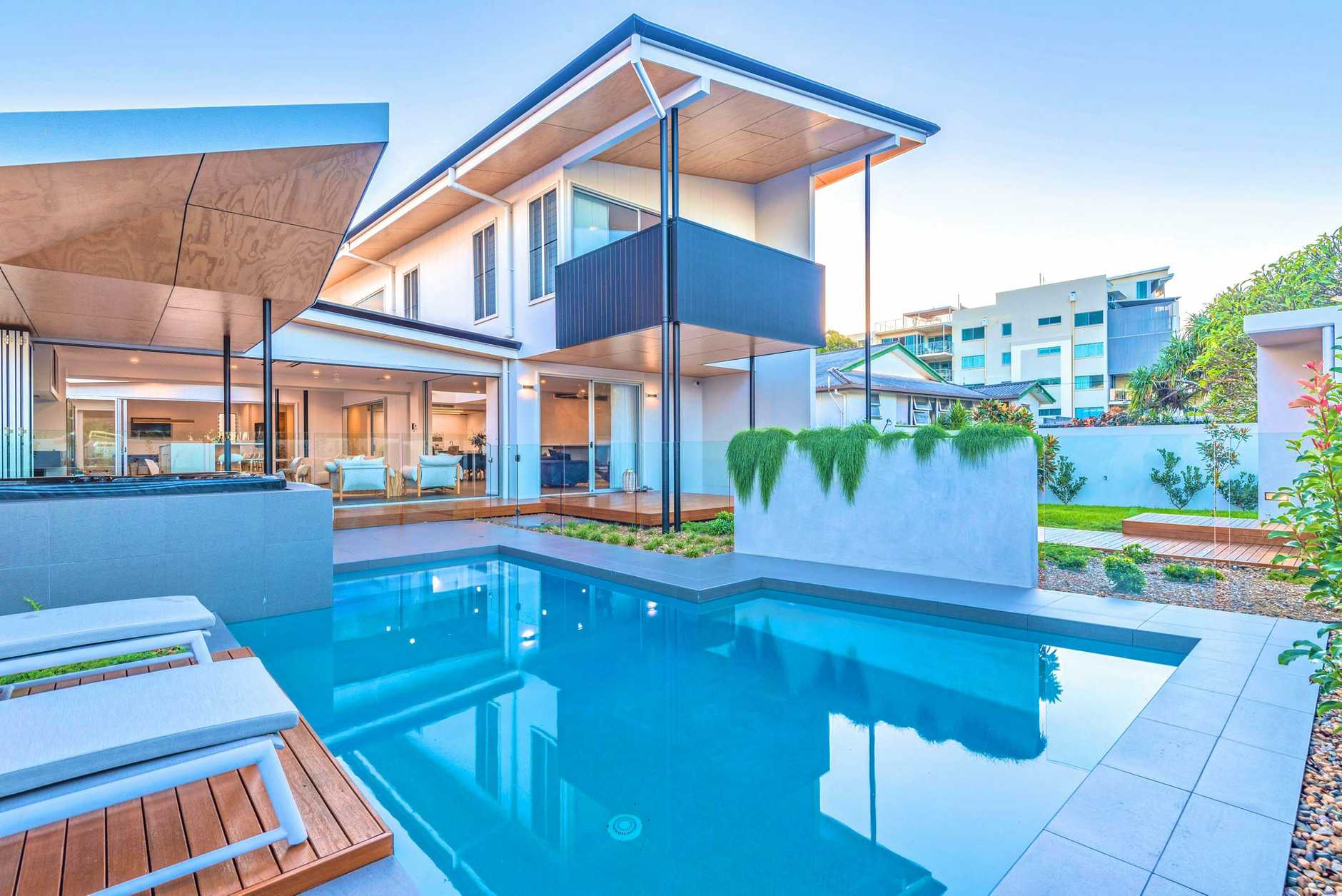 HOUSE OF THE YEAR: Steve Coates Constructions took out three awards at the Master Builders Awards on Friday last week. The mansion situated at 2a Clarke Street, Bargara won house of the year for the Wide Bay Burnett region.
