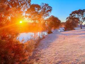 Warwick's coldest August morning in over two decades